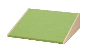 Podest Rampe niedrig mit Teppich - L 72 x B 80 x H 22,5 cm. BIRKE Dekor.